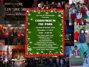 Summerville Georgia Christmas Parade 2021 Christmas In The Park Summerville Georgia